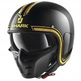 SHARK S-Drak Carbon Vinta Carbon / Chrom / Gold