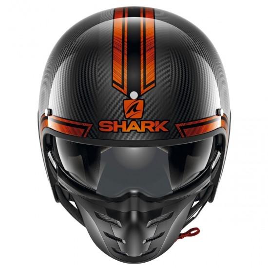 Casco SHARK S-Drak Carbon Vinta Carbon / Chrom / Orange