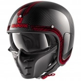 SHARK S-Drak Carbon Vinta Carbon / Chrom / Red