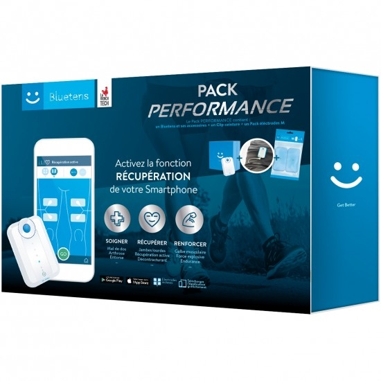 Elettrostimolatore BLUETENS Pack Performance