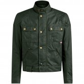 BELSTAFF Brooklands 2.0 Waxed Cotton Olive Green