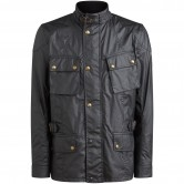 Crosby Waxed Cotton Black