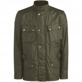BELSTAFF Crosby Waxed Cotton Forest Green
