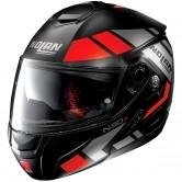 NOLAN N90-2 Euclid N-Com Flat Black / Red