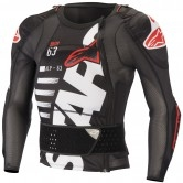 Sequence Long Sleeve Black / White / Red