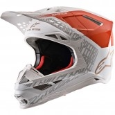 Supertech S-M8 2020 Triple Orange Fluo / White / Gold