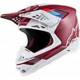 Supertech S-M8 Contact Dark Red / White
