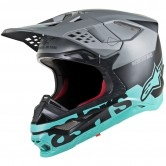 Supertech S-M8 Radium Black Matt / Mid Grey / Teal