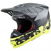 Supertech S-M8 Radium Black Matt / Mid Grey / Yellow Fluo