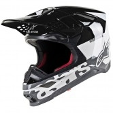 ALPINESTARS Supertech S-M8 Radium White / Black / Mid Grey Glossy