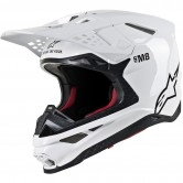 ALPINESTARS Supertech S-M8 Solid White Glossy