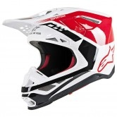 Supertech S-M8 Triple Red / White Glossy