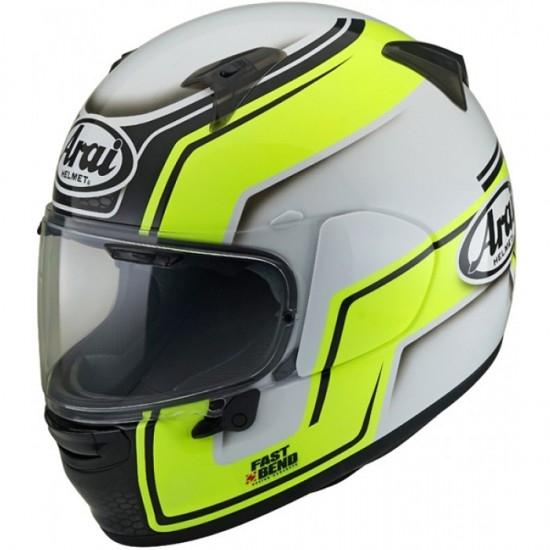 ARAI Profile-V Bend Yellow Helmet