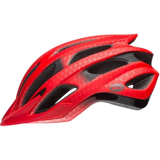 BELL Drifter Matte / Gloss Red / Black Helmet