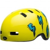 BELL Lil Ripper II Junior Bolt Gloss Hi-Viz