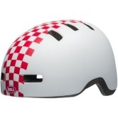 BELL Lil Ripper II Junior Checker Matte White / Pink