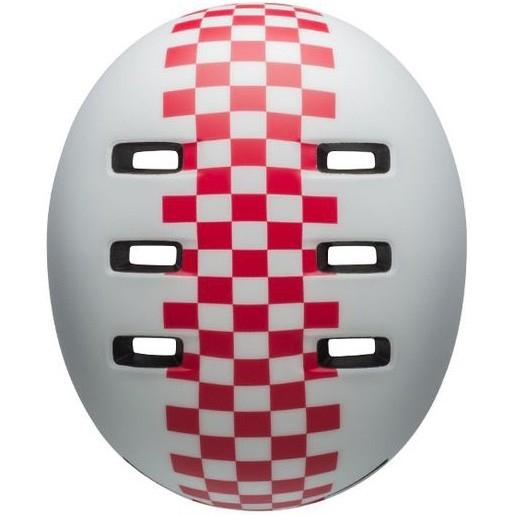 Casco BELL Lil Ripper II Junior Checker Matte White / Pink