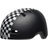 BELL Lil Ripper II Junior Checkers Matte Black / White