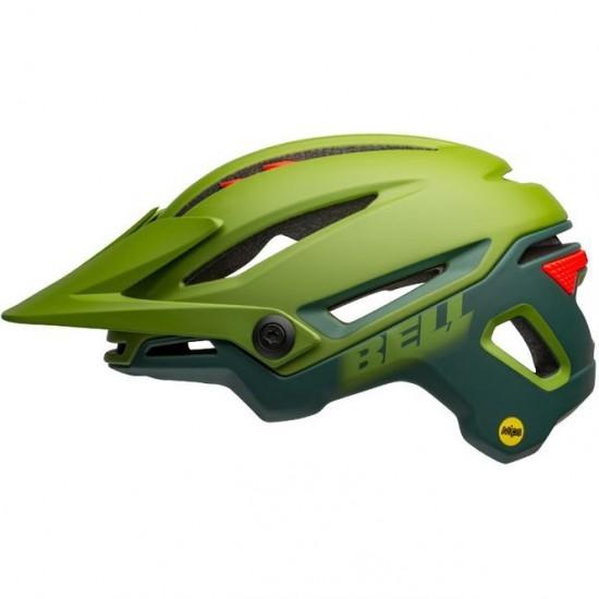 Sixer MIPS Matte - Gloss Green / Infrared
