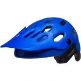 BELL Super 3 Matte Blue / Bright Blue