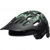 BELL Super 3 Oak Matte Black / Green