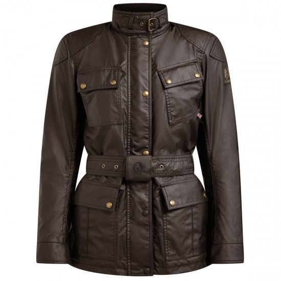 BELSTAFF Trialmaster Pro Waxed Cotton Mohogany Jacket