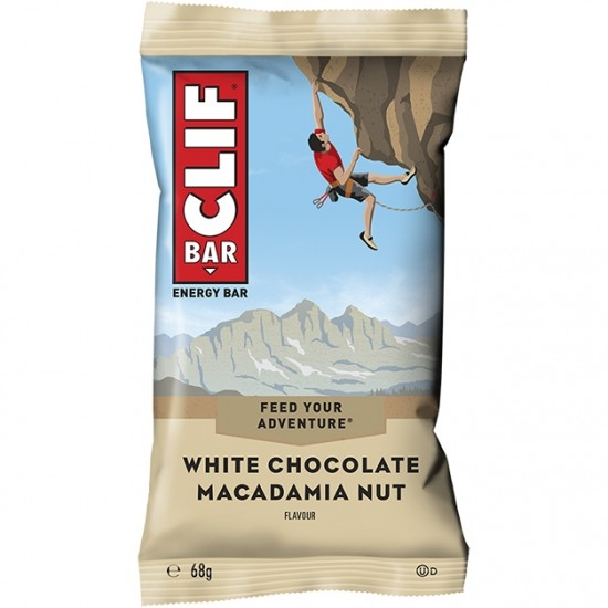 CLIF Bar White Chocolate / Macadamia Nut Nutrition