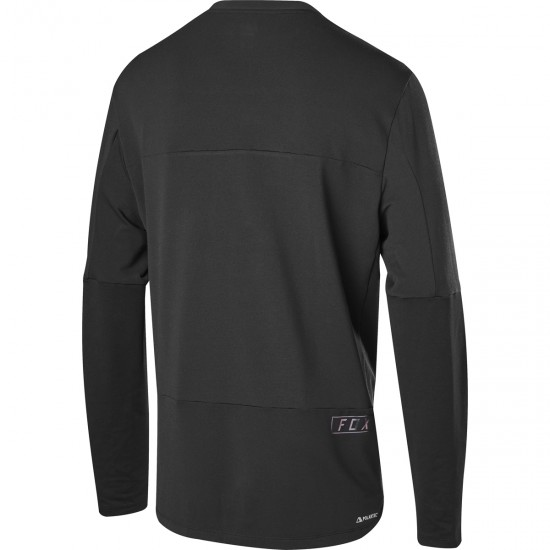 Bike Trikot FOX Defend Delta LS Black