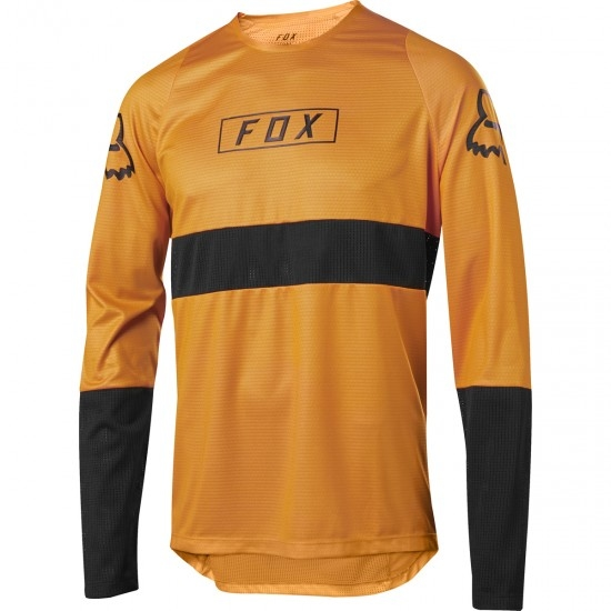 Maillot FOX Defend LS Fox Atomic Orange