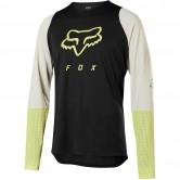 FOX Defend LS Foxhead Black / Yellow