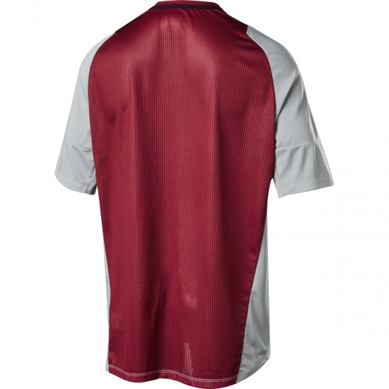 FOX Defend SS Fine Line Steel Grey Jersey