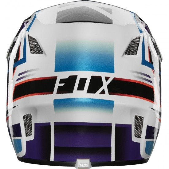 Capacete FOX Rampage Comp Reno Iced