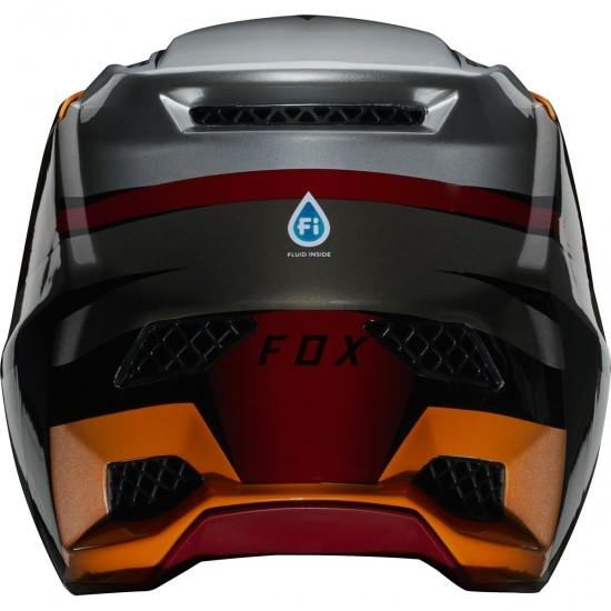 Casco FOX Rampage Pro Carbon Beast Iced