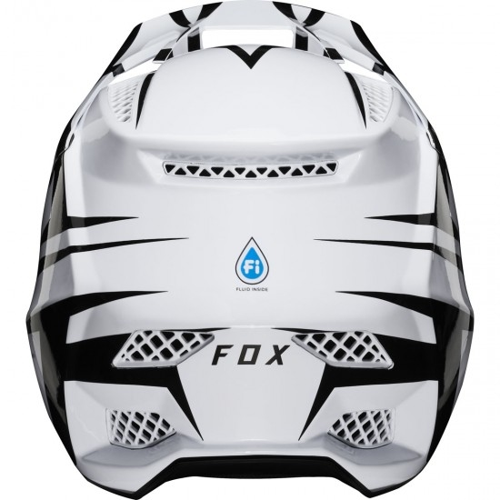 Casco FOX Rampage Pro Carbon Beast White