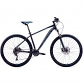 "MERIDA Big Nine 80-D 29"" 2019 Black / Blue"