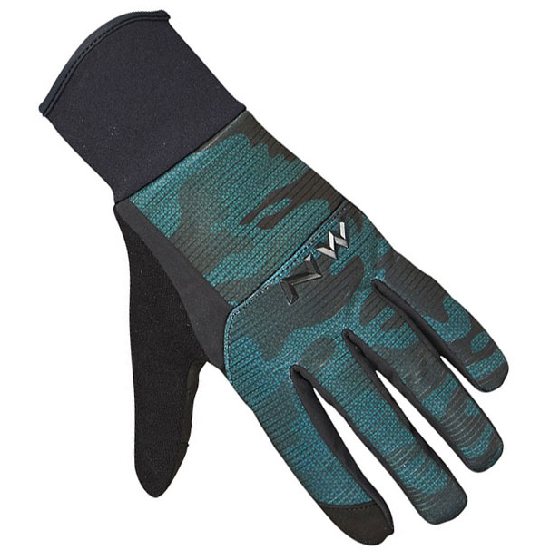 null NORTHWAVE Power 3 Gel Pad Black / Green Forest