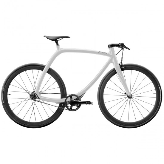 City bike RIZOMA Metropolitan Bike R77 Lunar White Matte