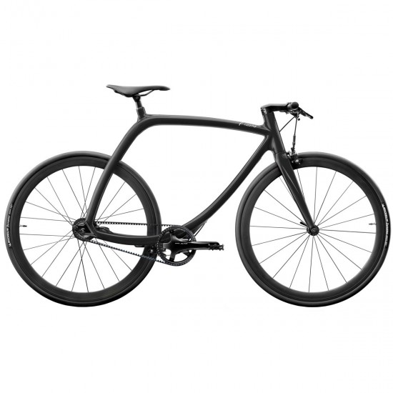 RIZOMA Metropolitan bike RS77 Cosmic Black Shiny City bike