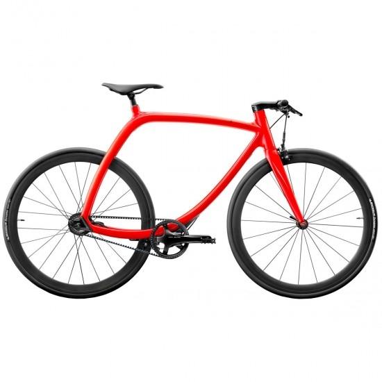 Bicicleta urbana RIZOMA Metropolitan bike RS77 Hydrogen Orange Shiny