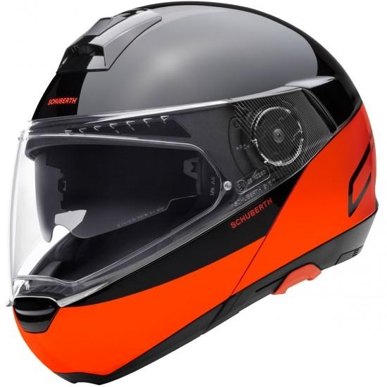 Casco SCHUBERTH C4 Pro Swipe Orange