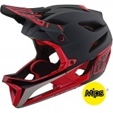 TROY LEE DESIGNS Stage Race Black / Red