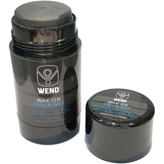 WEND Wax-On Spectrum Colors 2.5oz Twist Up Graphite Formula Black Workshop
