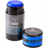 WEND Wax-On Spectrum Colors 2.5oz Twist Up Blue