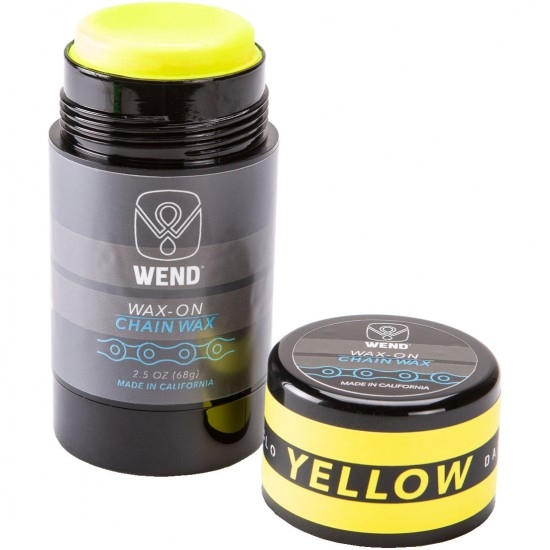 WEND Wax-On Spectrum Colors 2.5oz Twist Up Yellow Workshop