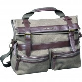 Neo Vintage Messenger Kaki / Brown