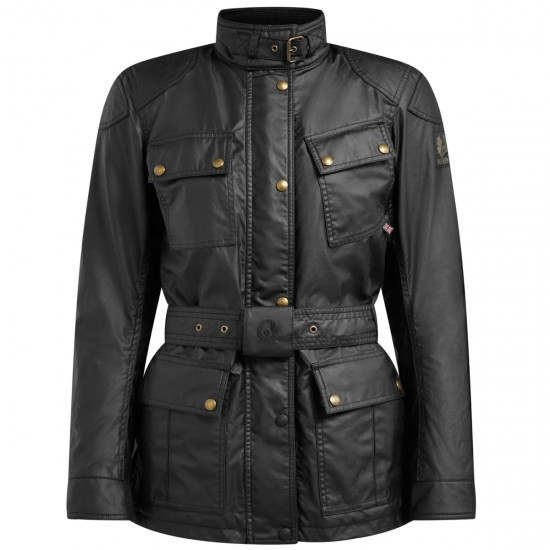 Giacca BELSTAFF Trialmaster Pro Waxed Cotton Lady Black