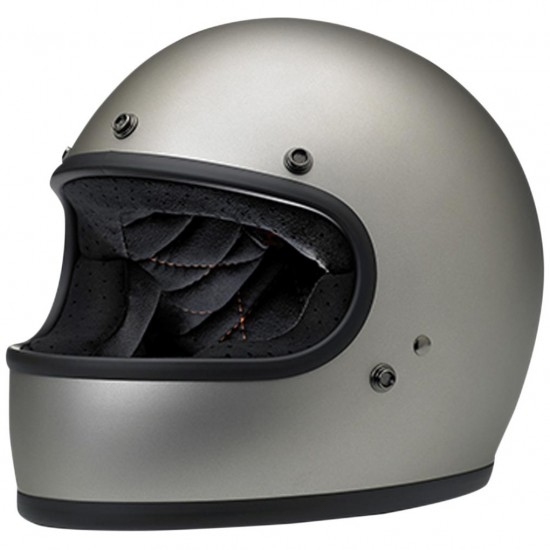 Helm BILTWELL Gringo Flat Titanium