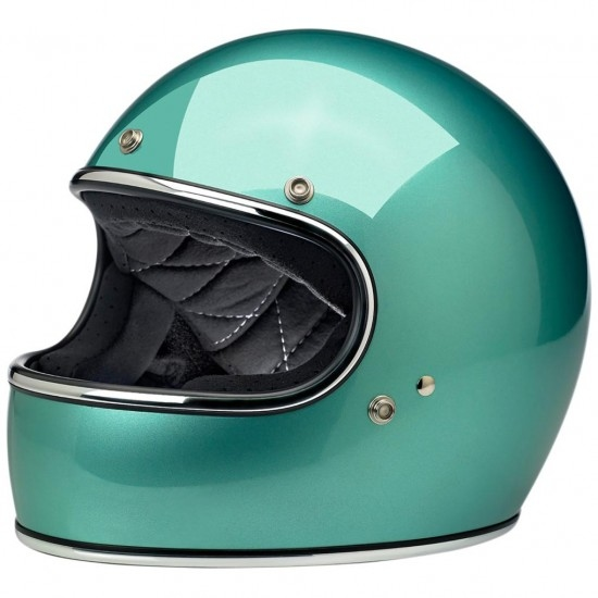 BILTWELL Gringo Gloss Sea Foam Helmet