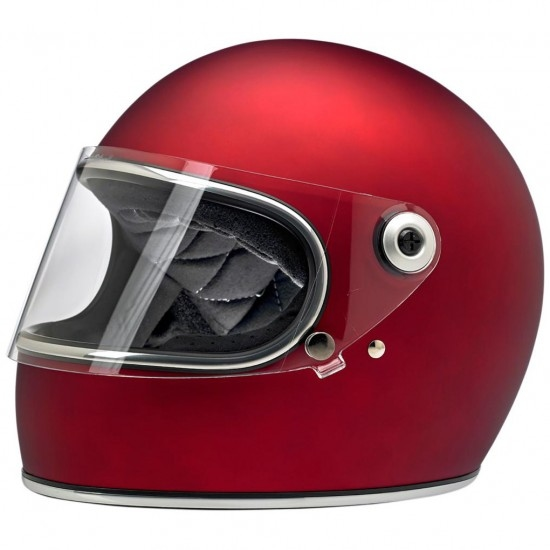BILTWELL Gringo S Flat Red Helmet