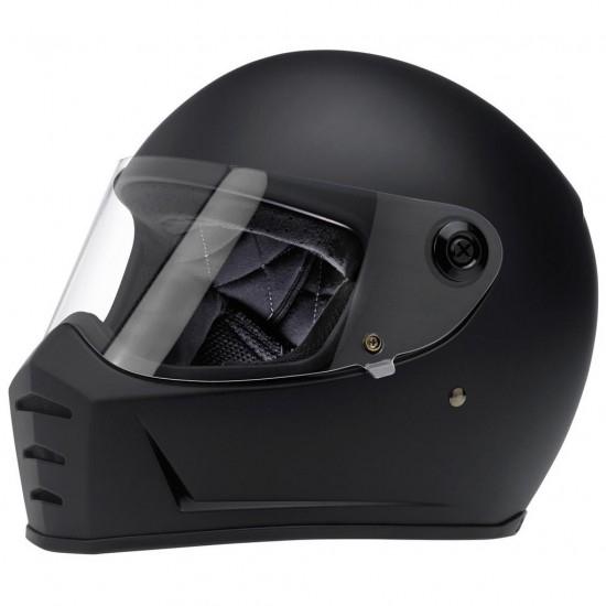 BILTWELL Lane Splitter Flat Black Helmet